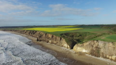 Sea and cliffs Stock Footage