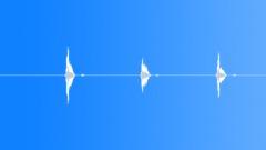 Dogs Beagle Bark Series x 3 Single Barks Panting Alert Calls Close Sound Effect