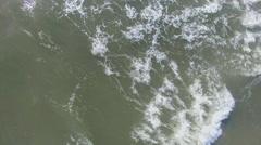 Waves on sea Stock Footage