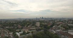 The skyline of the city of London Stock Footage