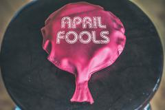 Whoopie Cushion April Fools Stock Photos
