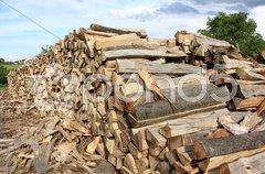Holzscheite Stock Photos