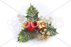 Holly decoration Stock Photos