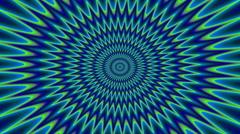 Psycho pattern seamless loop video Stock Footage