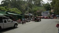 Thailand Street Markets Stock Footage