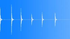 Wood Door Wood Hit Bang Hammer x6 - LR Close Int Int LcRc Med Clo Sound Effect