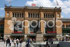 Bahnhof Hannover Stock Photos
