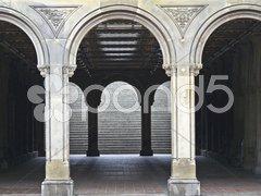Bethesda terrace Stock Photos