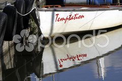 Segelboot Temptation Stock Photos