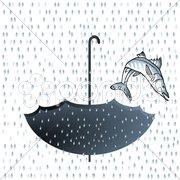 Regen-Fisch Stock Photos