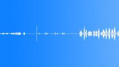 Rocks Slides Fiber Glass Pole Across Big Rock Various Performances In Sound Effect