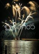 Wannsee in Flammen Stock Photos