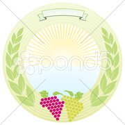 Sonnen-Wein Stock Photos