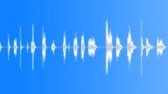 Glass Glass Harp Medium Long Hits Series x18 Length Gradual Increase Sound Effect
