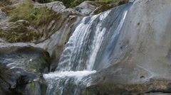 Rio Reventador, a clear mountain stream Stock Footage
