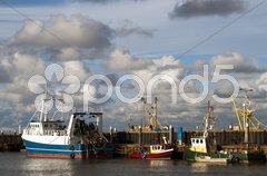 Transport ships Stock Photos