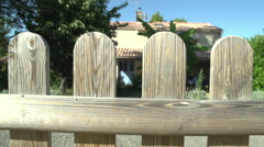 French Holiday Villa In The Vendee Stock Footage