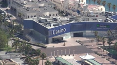 Casinos And Shopping Districts Stock Footage