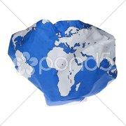 Gefährdete Erde Stock Photos