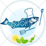 Fisch-Restaurant Stock Photos