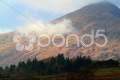 Berg im Licht Stock Photos