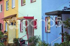 Wohnhäuser Stock Photos