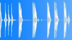 Foley Various Large Fiberglass Tube Drops Series Heavy Slam Bounces R Sound Effect