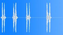 Foley Various Linoleum Sheet Hard Shake Single Bursts Series Bend Cla Sound Effect