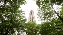 Yale Campus Stock Footage