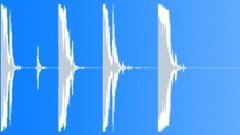 Metal Drops Metal Bar Drops Series Tin Plate Junk Crashes Smooth Rus Sound Effect