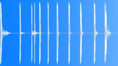Foley Various Metal Drops Series x8 Aluminum Plates Metal Cylinder Lo Sound Effect
