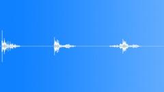 Foley Metal Jingles Wire Coil Thick Small Drop x 2 Crash Bounces Ve Sound Effect