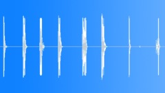 Foley Various Metal Piece Plate Release Bang Loud Series x8 Concrete Sound Effect