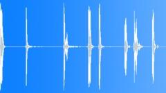 Metal Drops Medium Size Piece Drop Series Heavy Hits Hollow Clunks B Sound Effect