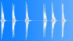 Metal Drops Small Piece Drop Series Hard Clunk Metallic Ring Hollow Sound Effect