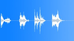 Metal Drops Various Screws Big Tools Drop Throw Series x 4 Truck Fl Sound Effect