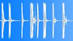 Metal Hits Metal Heavy Tools Drop Throw Series x 8 Truck Flatbed Ha Sound Effect