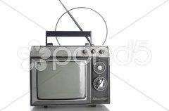 Alter Fernseher Stock Photos