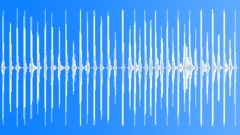 Foley Various Metallic Stomps Series x38 Running Rhythmic March Medium Sound Effect