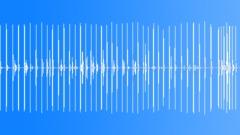 Foley Various Metallic Stomps Walking Medium Fast Speed Piece Metal C Sound Effect