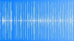 Foley Various Metallic Stomps Walking Medium Slow Speed Steel Treads Sound Effect