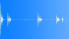 Metal Drops Metallic Tube Drops Series Fiberglass Planks Heavy Rattle Sound Effect
