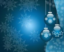 Christmas ornaments Stock Illustration