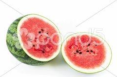 Sliced Watermelon Stock Photos