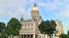 CT State Capital Stock Footage