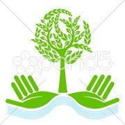 Naturschutz-Baum Stock Photos