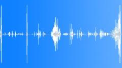 Foley Various Pop Tube Plastic Bending Nice Clatter Pitch Increase De Sound Effect