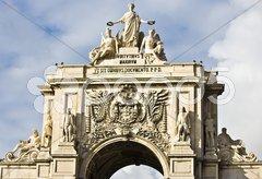 Arco Triunfal Stock Photos