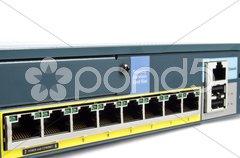 Full Ethernet firewall Stock Photos