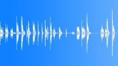 Metal Drops Single Rim:Drop Concrete x20 Hard Bang Good Rims Bouncing Sound Effect